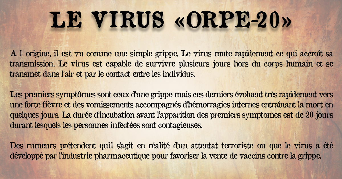 4 - Le virus