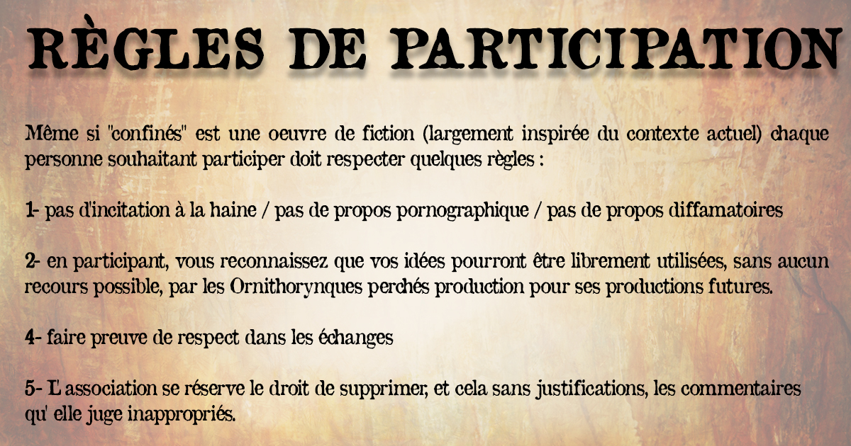 5 - règles de participation